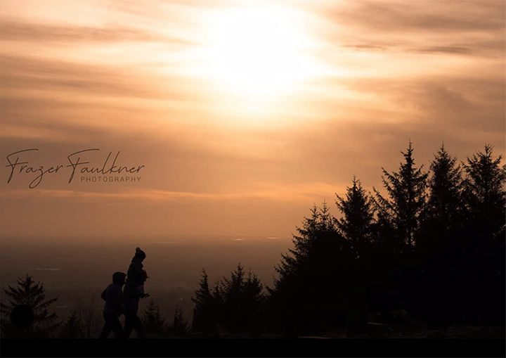 Competition entry of the sunset from Beacon Fell Pic: Frazer Faulkner