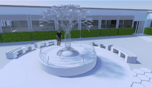 Designs for the memorial garden at Royal Preston Hospital