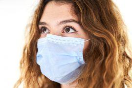 Woman wearing mask Pic: Engin Akyurt from Pixabay