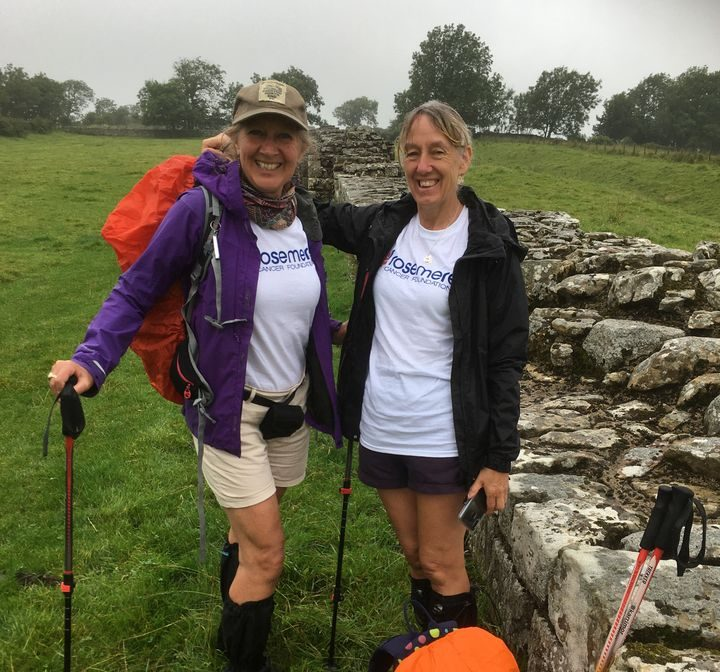 Preston mum-of-two and PR copy writer Jacqueline Ballard has been walking to raise money for charity