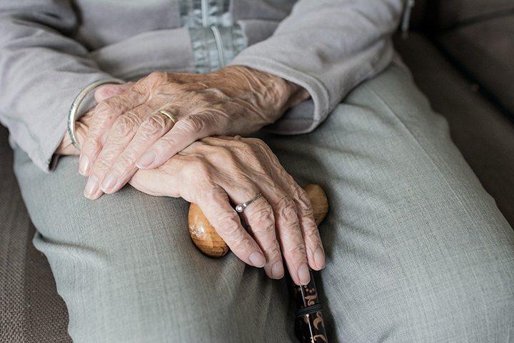 Elderly woman's hands Pic: Sabine van Erp from Pixabay