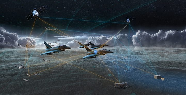 """The Eurofighter Typhoon in the """"future battlespace"""" Pic: BAE Systems"""