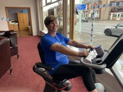 Staff at Co-op Funeralcare in Ashton-on-Ribble took part in a sponsored cycle event