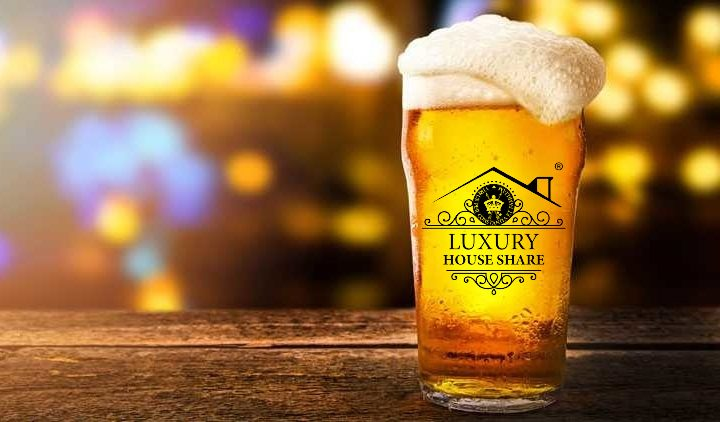 Luxury House Share beer