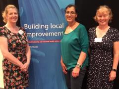 NTA Finalists Lancashire Teaching Hospitals. Maternity improvement leads: L-R Andrea Whitehead, Richa Gupta, Fiona Crossfill.