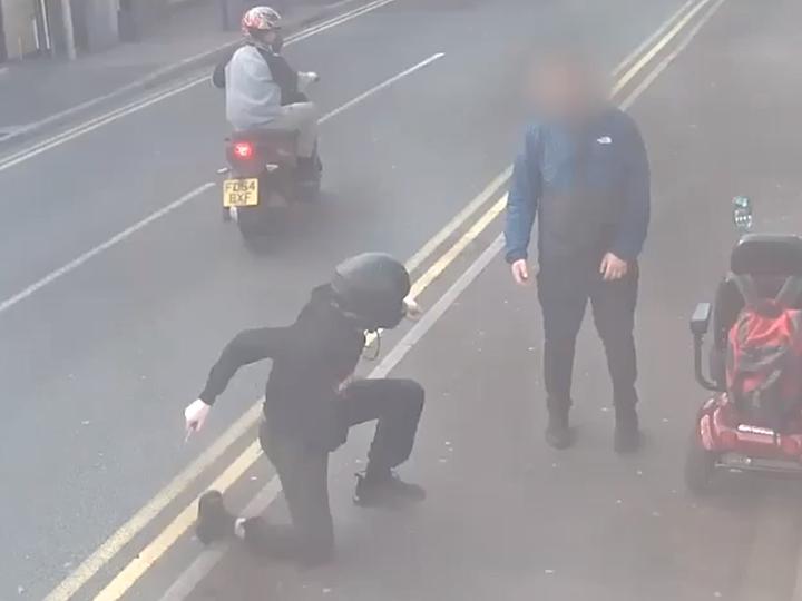 Plungington stabbing CCTV