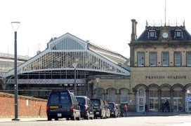 The front of Preston Station Pic: Donna Clifford