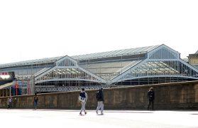 The new glazing at Preston Station Pic: Donna Clifford