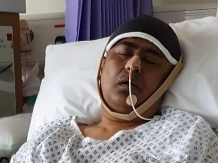 Dr Hossain suffered a major stroke leaving him in critical condition.