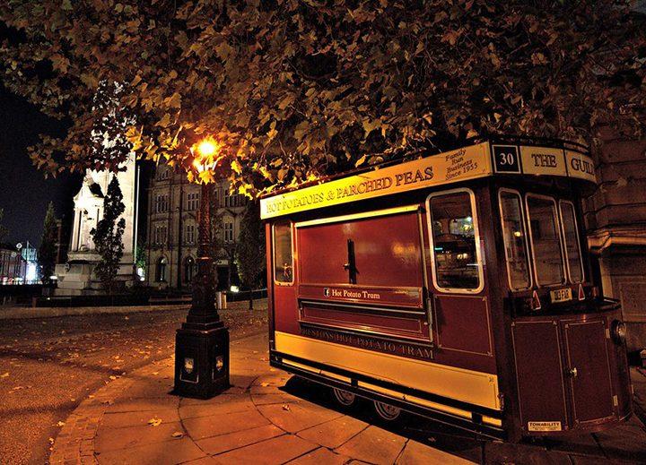 The Spud Van Pic: Tony Worrall