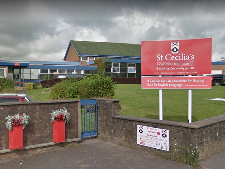 St Cecilia's Roman Catholic High School Pic: Google