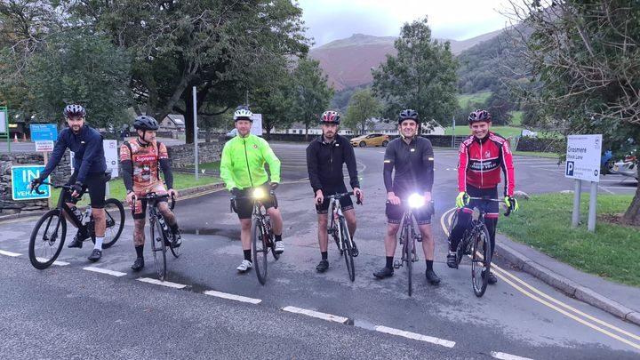(L-R): Adam Roscoe, Ben Kirby, David Rose, Dom Whitehead, Danny Rawcliffe, Farrell Kilbane