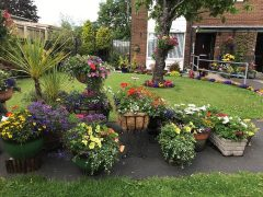 South Ribble in Bloom Winner - Best Container - Barbara Gardner and May Spiby