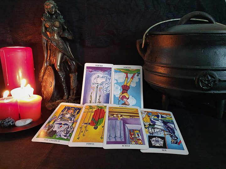 Cancer October tarot reading Pic: Violetann Tarot