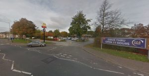 McDonalds at Preston Docks Pic: Google