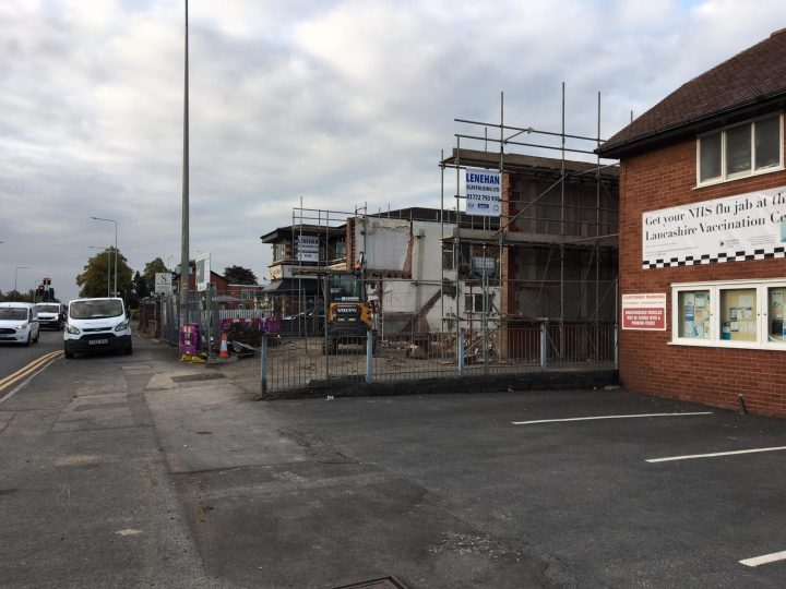 Garstang Road property to be turned into commercial and residential use.