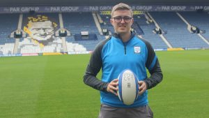 Ryan Allen, new rugby League Development officer at Preston North End Community and Education Trust. Pic: PNECET