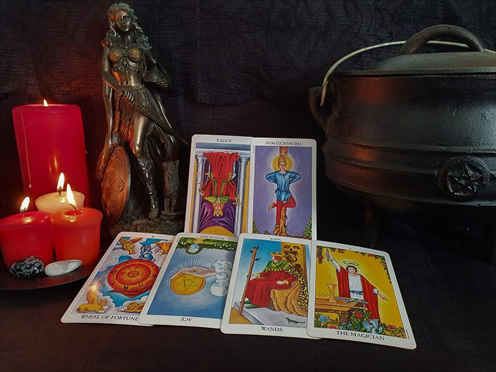 Taurus October tarot reading Pic: Violetann Tarot