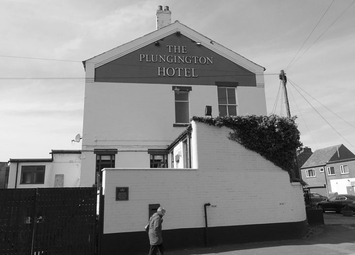 The Plungington Hotel borders Plungington Road and Lytham Road Pic: Tony Worrall