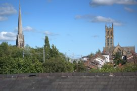 St Walburge's and St Marks on Preston's skyline Pic: Tony Worrall