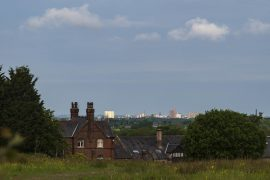 A view of Preston's skyline with Beeston Manor in the foreground Pic: Mick Gardner