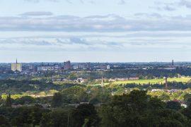 Preston's city skyline Pic: Mick Gardner