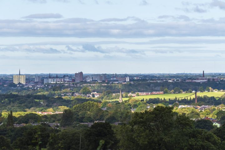 Preston's city skyline Pic: Mick Gardner
