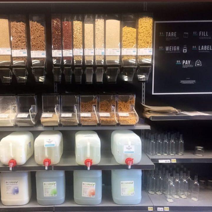 UCLan's Zero Waste shop. Pic: @uclansuzerowaste Instagram