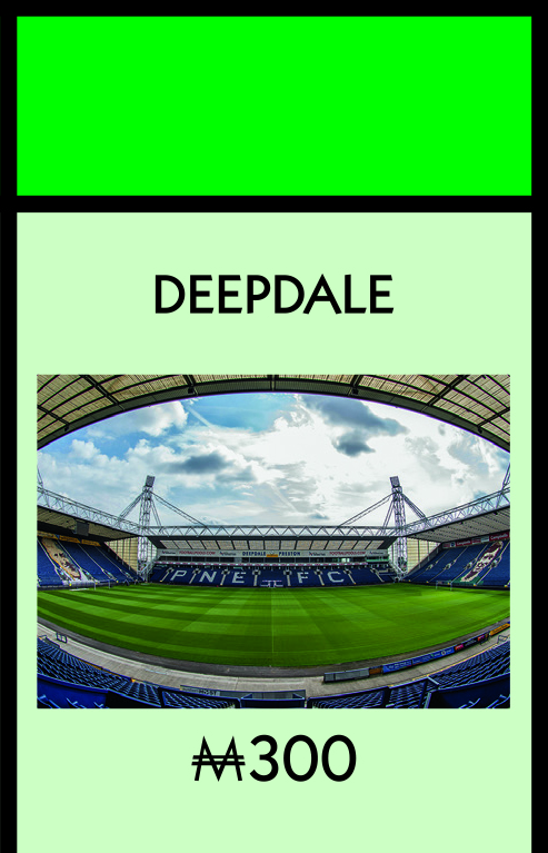 Deepdale has also landed a place on the board