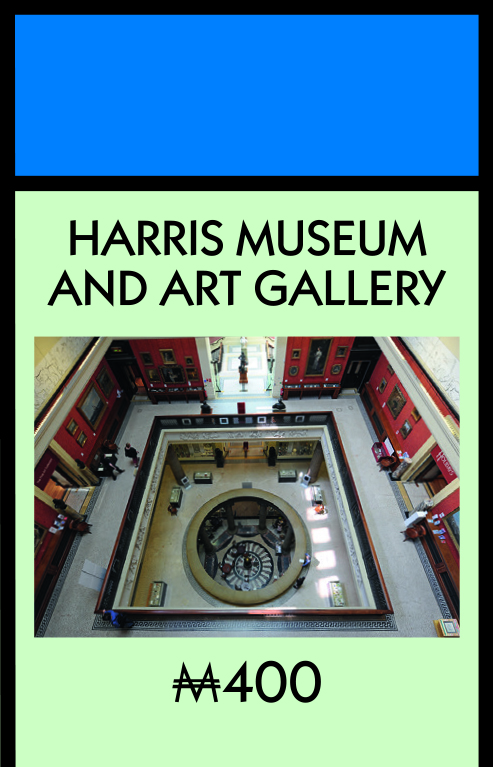 The Harris Museum and Art Gallery has been crowned in the top position
