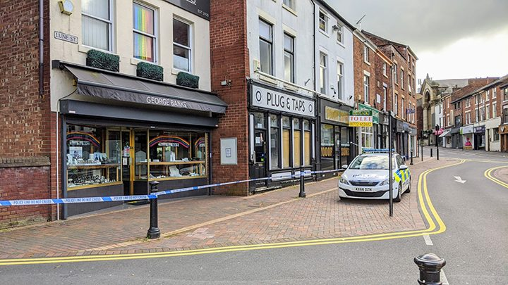 George Banks Jewellers in Lune Street Pic: Tony Worrall