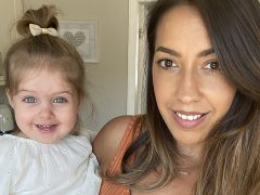 Kirsty with daughter Ava