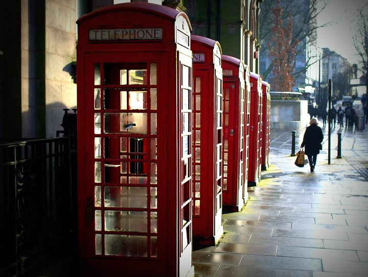 Phone boxes in Market Street Pic: Tony Worrall