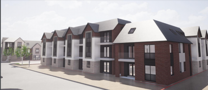 What the new apartments will look like. Pic: Planning application Preston City Council