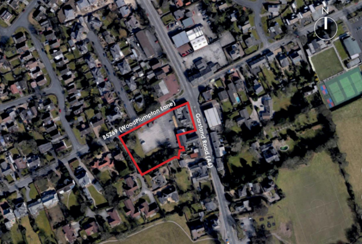 Location of the redevelopment. Pic: Planning application Preston City Council