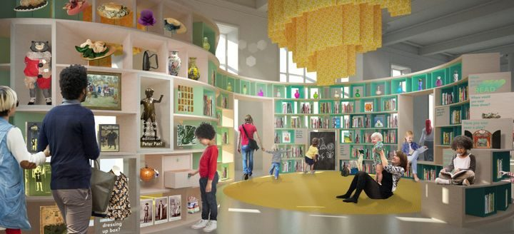Planned Children's Space Pic: Ralph Appelbaum Associates