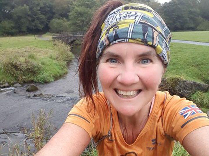 Ramona on her 184th consecutive daily run