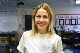 Sarah Smith-Sergeant Breathe Education. Pic: Breath Education