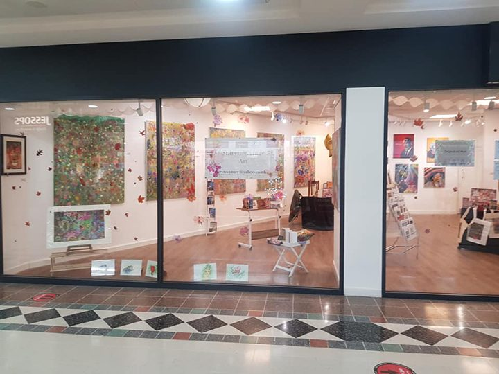 Shiryn Wynter Art is located on the ground floor in St George's