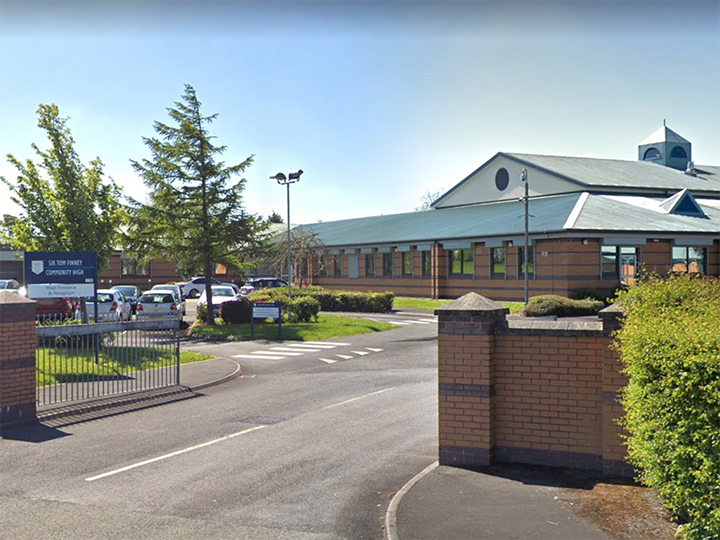 Sir Tom Finney Community High School Pic: Google