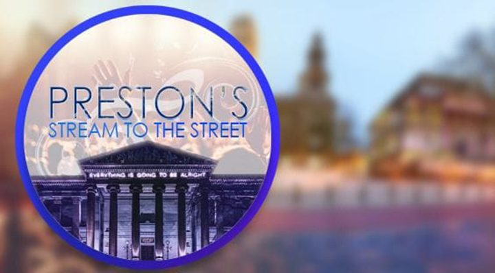 Preston's Stream to the Street is happening this weekend