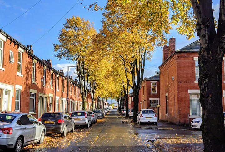 Street in Ashton-on-Ribble Pic: Tony Worrall