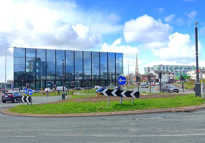 UCLan's Engineering Innovation Centre Pic: Tony Worrall