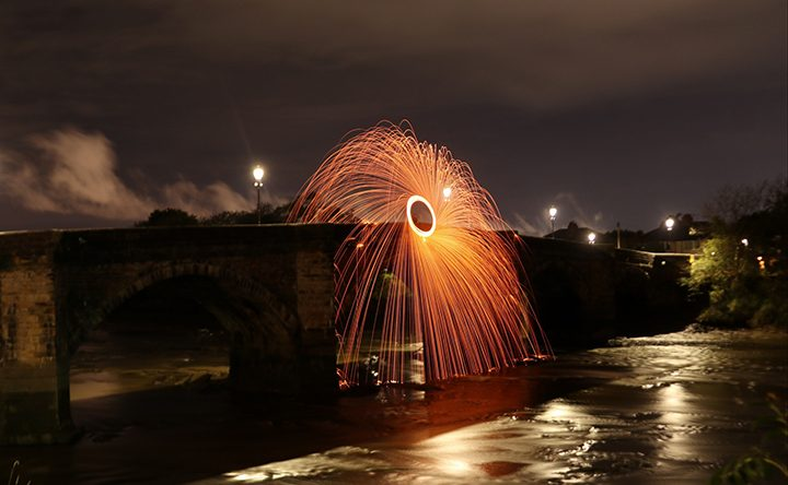 Ben created some amazing photos on Old Penwortham Bridge Pic: @benjaminb_photography