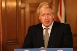 Boris Johnson gave his latest press conference to the country