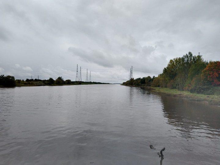Looking out at the Bullnose near Preston Docks Pic: Blog Preston