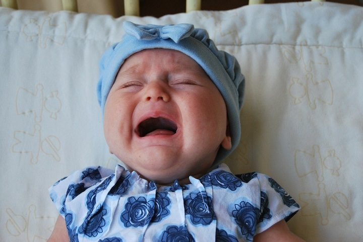 A crying baby Pic: Pixabay
