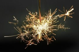 Lit fireworks were put through the doors of properties Pic: Pixabay