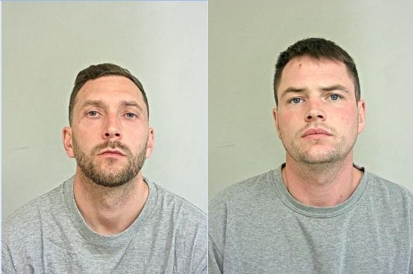 Nathan Green (pictured left), 37, of Sale Road, Manchester and Joseph Pike (pictured right), 30, of Tabley Street, Ashton-under-Lyne