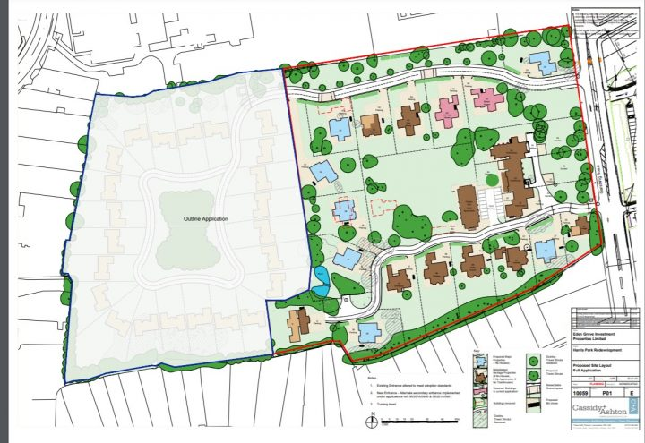 Harris Park revised development plans example. Pic: Preston City Council